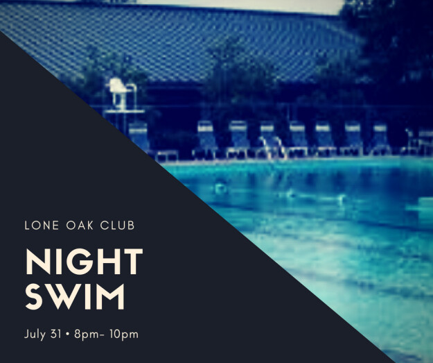Youth Group Night Swim